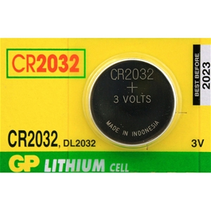 Gp CR2032 Pil