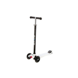 Micro Maxi Scooter White T-Bar Black
