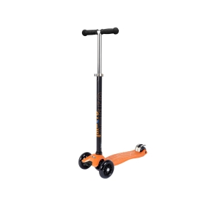 Micro Maxi Scooter Orange T-Bar Black