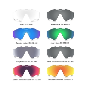Oakley Jaw Breaker Fire Iridium Lens 92900931 PL