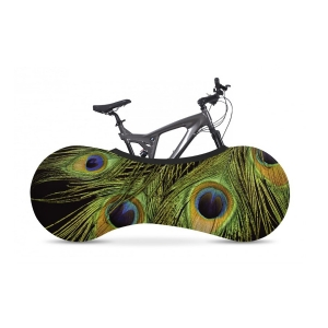 Velosock Indoor Bike Cover Tavus Kuşu