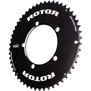 ROTOR Chainring 52AT BCD110x5 - outer - black - aero - to 36